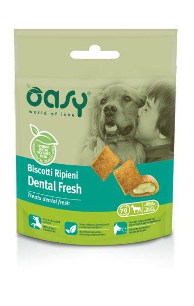 Oasy Cane Adulto Biscotti Ripieni Dental Fresh 70 g